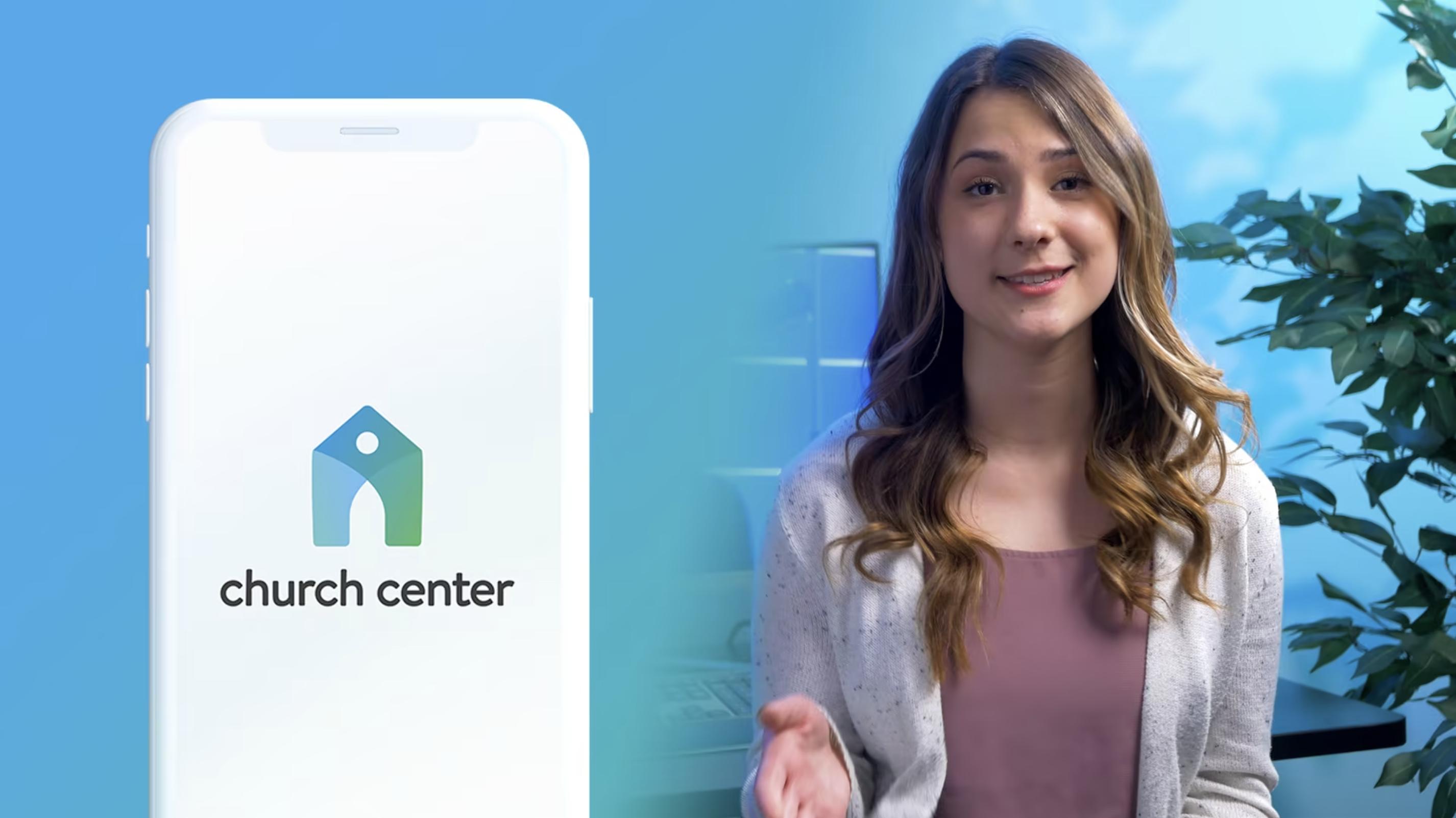 Church Center App Promo